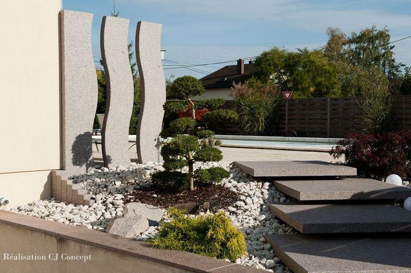 Granit pour aménagement paysager - Granit Petitjean Fournisseur